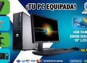COMBOS FULL!! Computadoras Dell +Mueble+Silla+Regulador+Bocinas A Tan Solo Q 2,190.00