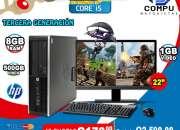 REGALE TECNOLOGÍA EN ESTA NAVIDAD, TEL: (5701-6630//2335-2099) COMPUTADORAS COREi5 A TAN S
