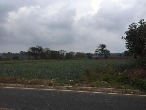 Citymax antigua venta terreno uso comercial en santiago sacatepéquez